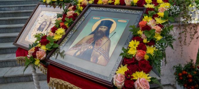 9 августа в г.Сарапуле прошли торжества посвященные памяти священномученика Амвросия Сарапульского, на которых так же  приняли участие духовенство Алнашского благочиния