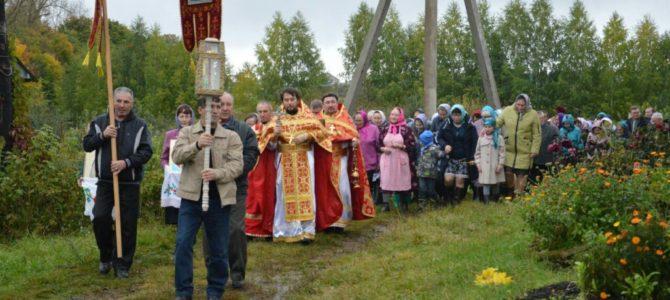 30 сентября в д.Новотроицк Алнашского района прошел престольный праздник в честь святых мучениц Веры, Надежды, Любви и матери их Софии.